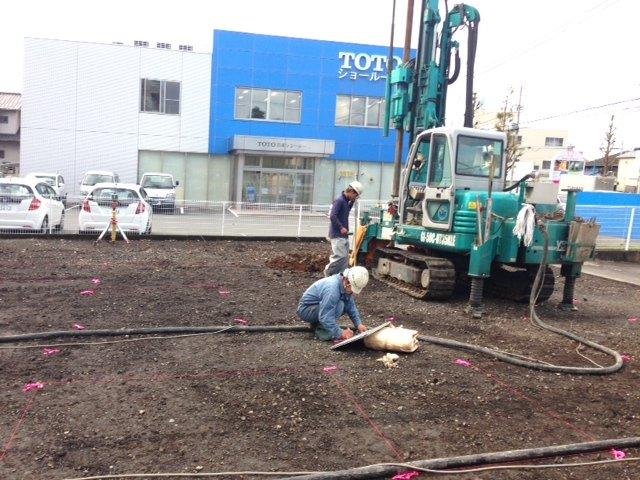 沼津市 S様邸新築工事 着工致しました。
